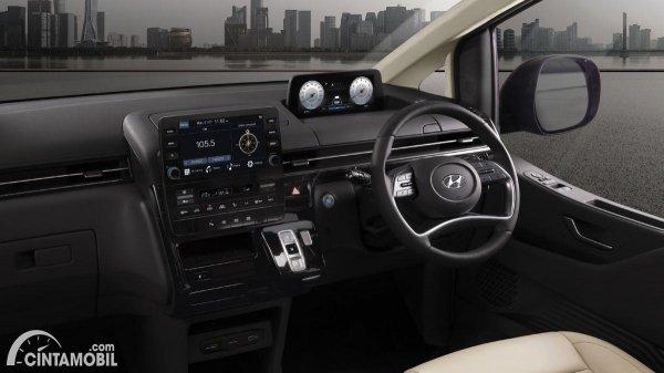 Gambar tampilan dashboard Hyundai Staria