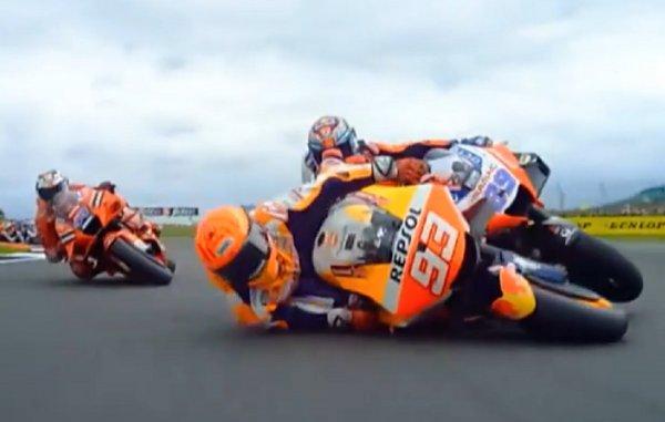 Gambar menunjukan Marquez