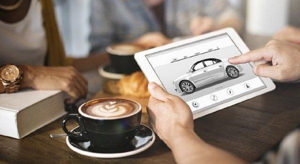 Gambar menunjukan Beli mobil online