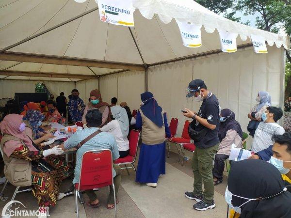 vaksinasi gratis yang ada di berbagai daerah Indonesia