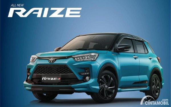 Toyota Raize GR Sport terbaru di Indonesia