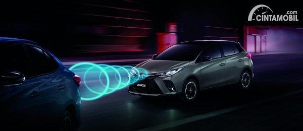 fitur Toyota Vios terbaru dari facelift di Thailand