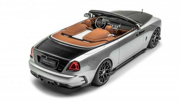 Gambar Rolls-Royce Dawn Silver Bullet Mansory